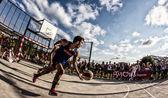 Partido de baloncesto final — Foto de Stock