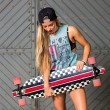 Skateboarder girl — Stock Photo #53584111