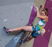 Campionato del mondo di arrampicata — Foto Stock