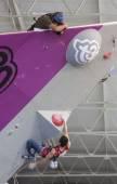 攀爬世界冠军 — 图库照片