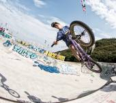Bmx rider — Stock Photo
