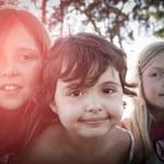 Three little girls — Stock Photo #54559365