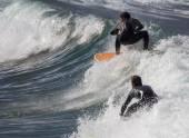 アクションでサーファー — ストック写真