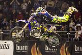 Burn Cup Freestyle Gijon 2014 — Stock Photo