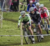 Cyclocross Competition 2015 — Stock Photo