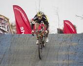 Cyclocross Championship 2015 — Stock Photo