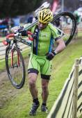 Cyclocross Championship 2015 — Stock Photo