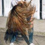 Girl shaking her head — Stock Photo #71195623
