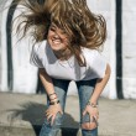 Girl shaking her head — Stock Photo #71195643