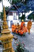 Monk in LUANG PRABANG — ストック写真