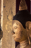 Image of Buddha show only head and face Image of Buddha.  — Stock fotografie
