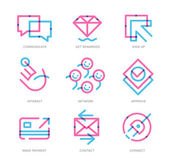 User Experience Icons — Stock Vector