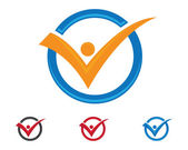 Healthy logo — Stock Vector