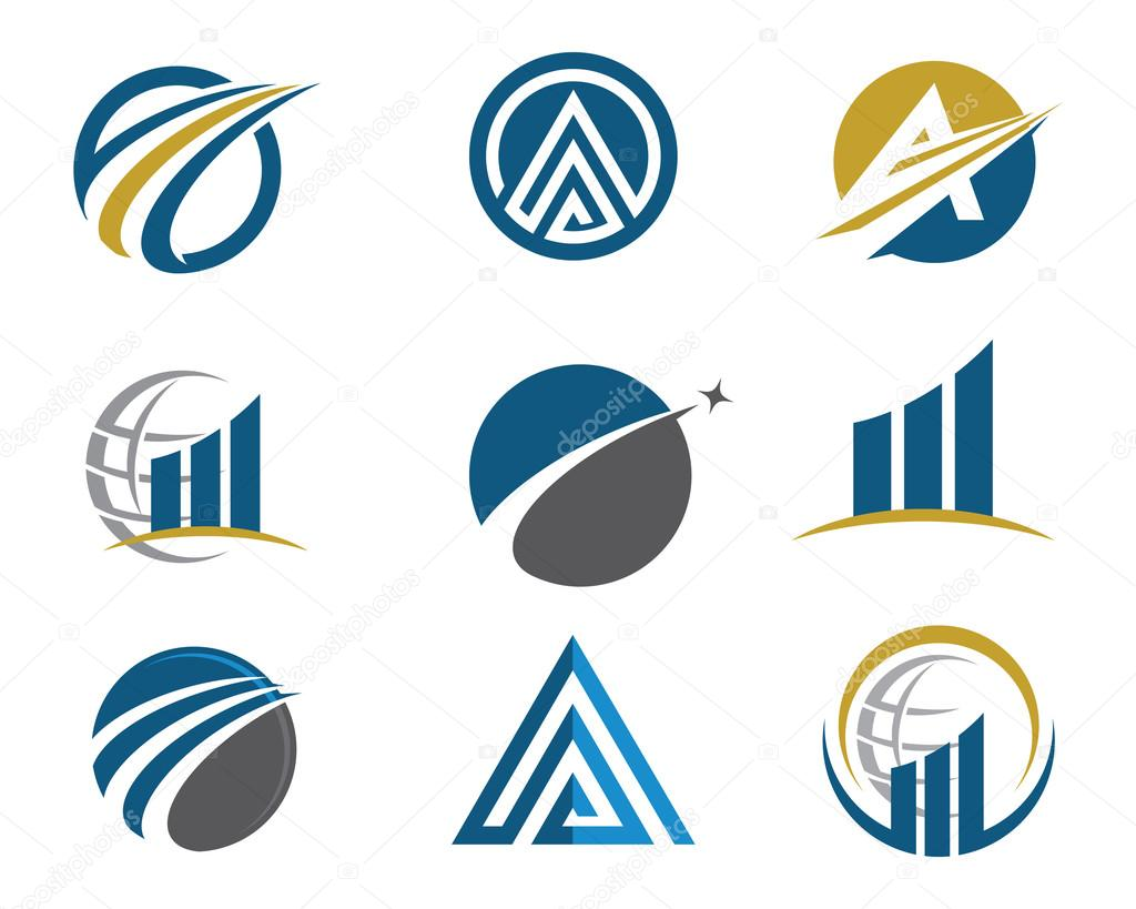 A, V, N Letter Finance Logo — Stock Vector © elaelo #85320932