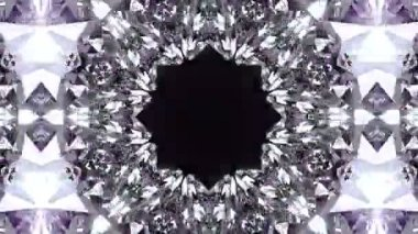 Crystalline abstract background. — Stock Video