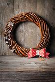 Сhristmas wreath — Stock Photo