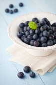 Juicy Fresh blueberries — Zdjęcie stockowe