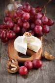 Camembert cheese with honey — Photo