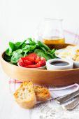 Ингредиенты для салата — Стоковое фото