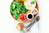 Ingredients for salad — Stock Photo