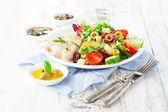 Salada de frango — Fotografia Stock