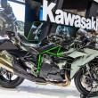 Постер, плакат: Kawasaki Ninja H2 showed in 31th Thailand International Motor Ex