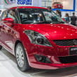 Постер, плакат: Suzuki Swift RX a compact car showed in 31th Thailand Internatio