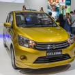 Постер, плакат: Suzuki Celerio a compact car showed in 31th Thailand Internation