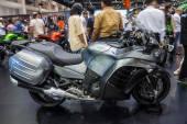 Kawasaki 1400 GTR ABS showed in 31th Thailand International Moto — Stock Photo