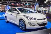 Hyundai Elantra a compact caron display — Stock Photo
