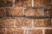 Old brown stone wall — Stock Photo