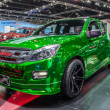 Постер, плакат: Vivid green Isuzu X series