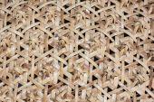 Pattern of rattan wicker — Stock Photo
