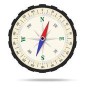 Kompass isolerade — Stockvektor