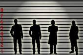 Suspects — Stock Photo