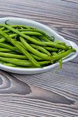 Fresh pea pods — Stock Photo