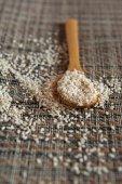 Sesame seeds — Stock Photo