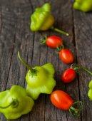 Pomodori e peperoni — Foto Stock