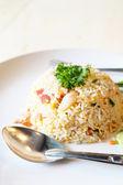 Fried rice with bacon  — Fotografia Stock