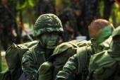 Thajský voják — Stock fotografie