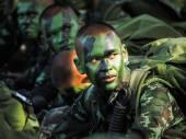 Soldado tailandés — Foto de Stock