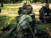 Thailändska soldat — Stockfoto