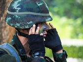 Thai soldier — Stock Photo