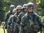 żołnierz tajski — Zdjęcie stockowe