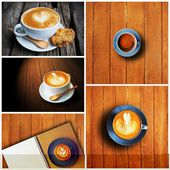 Coffee set collect — Stock Photo