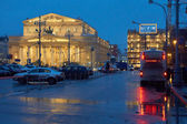 Bolshoi Theater and Central Department Store — Stock Photo
