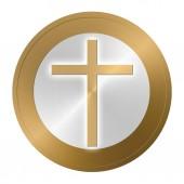 The Christian cross — ストック写真