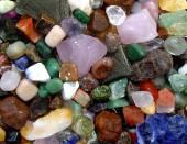 Precious stones for crafts. — Stock Photo