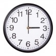 Clock on white — Stock Photo #56527669