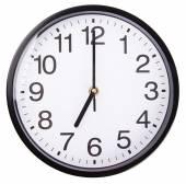 Beyaz saat — Stok fotoğraf